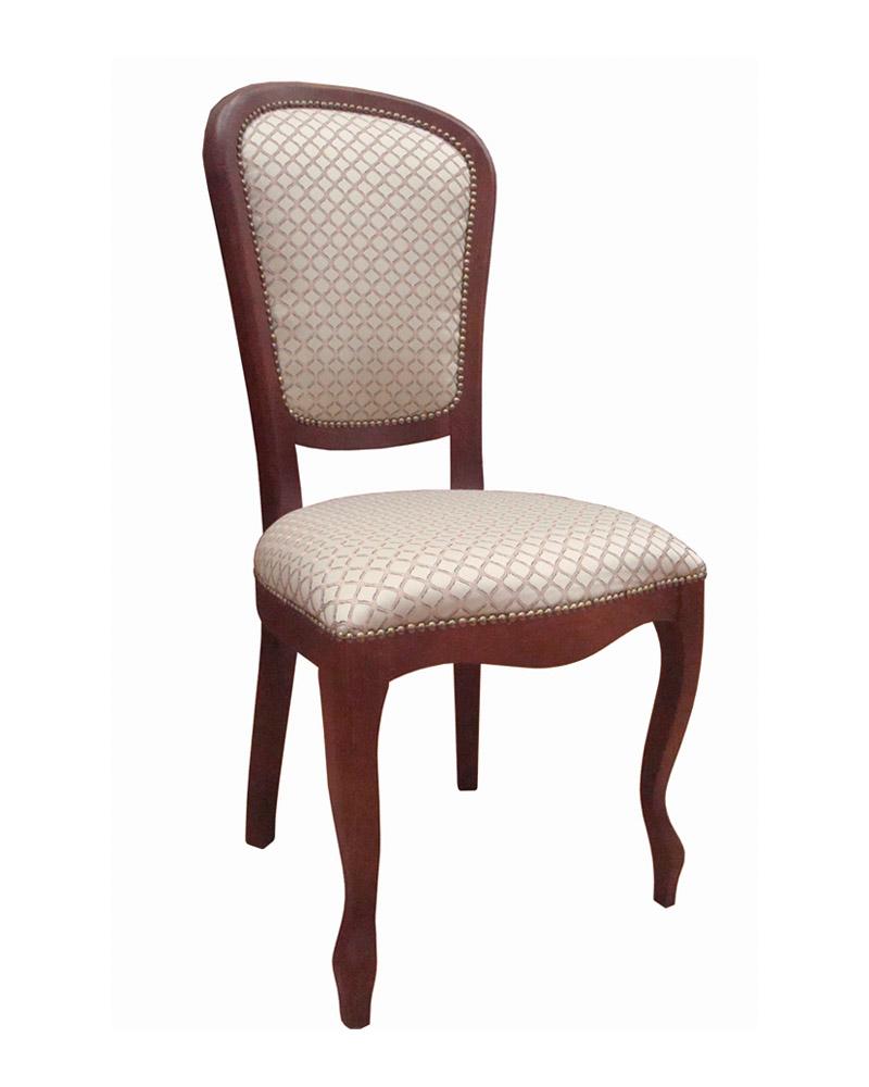 Стул из массива гевеи 4753. Деревянные стулья (Малайзия) - Стул 853s